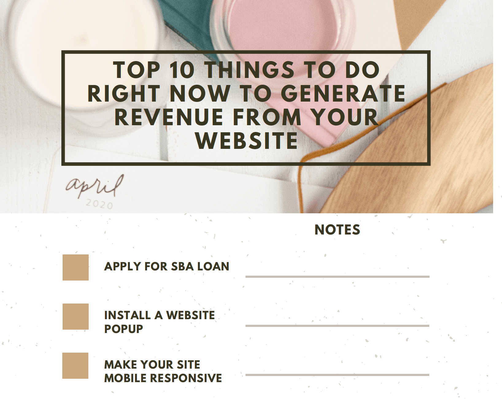 generate revenue from your website 2