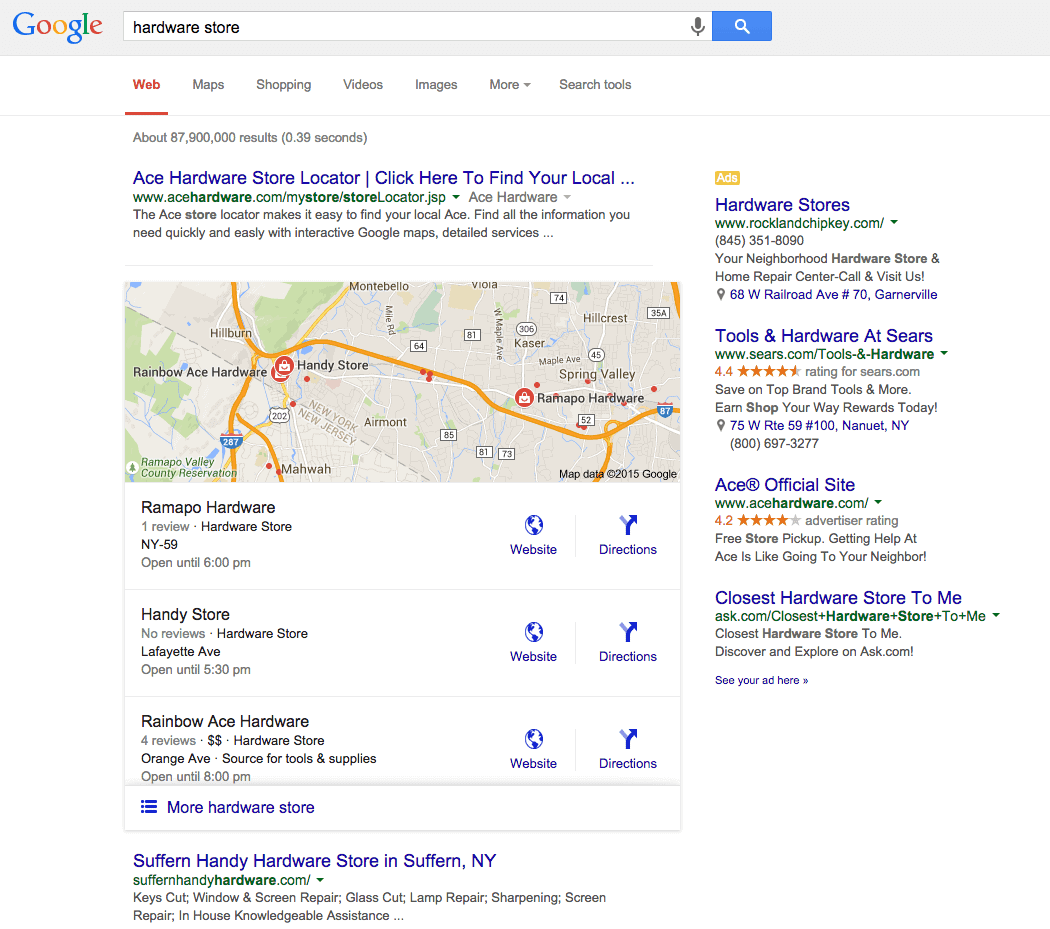 A Brief Guide to the Google Local 3-Pack